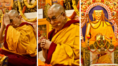 Далай-лама учения в Риге в октябре 2016